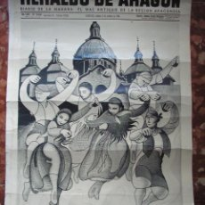 Plakate - CARTEL DE HERALDO DE ARAGON MEDIDAS 55CMX41CM - 45302695