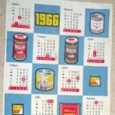 Carteles: CARTEL DE ROPA - PUBLICIDAD NESTLE LA LECHERA - MAGGI - NESCAFE NESQUIK - IDEAL PARA COCINAS. Lote 45419404