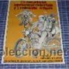 Carteles: CARTEL 3ª CONCENTRACION INTERNACIONAL MOTOCICLISTA Y 1ª MOTOS ANTIGUAS STA. COLOMA GRAMENET -. Lote 45429013