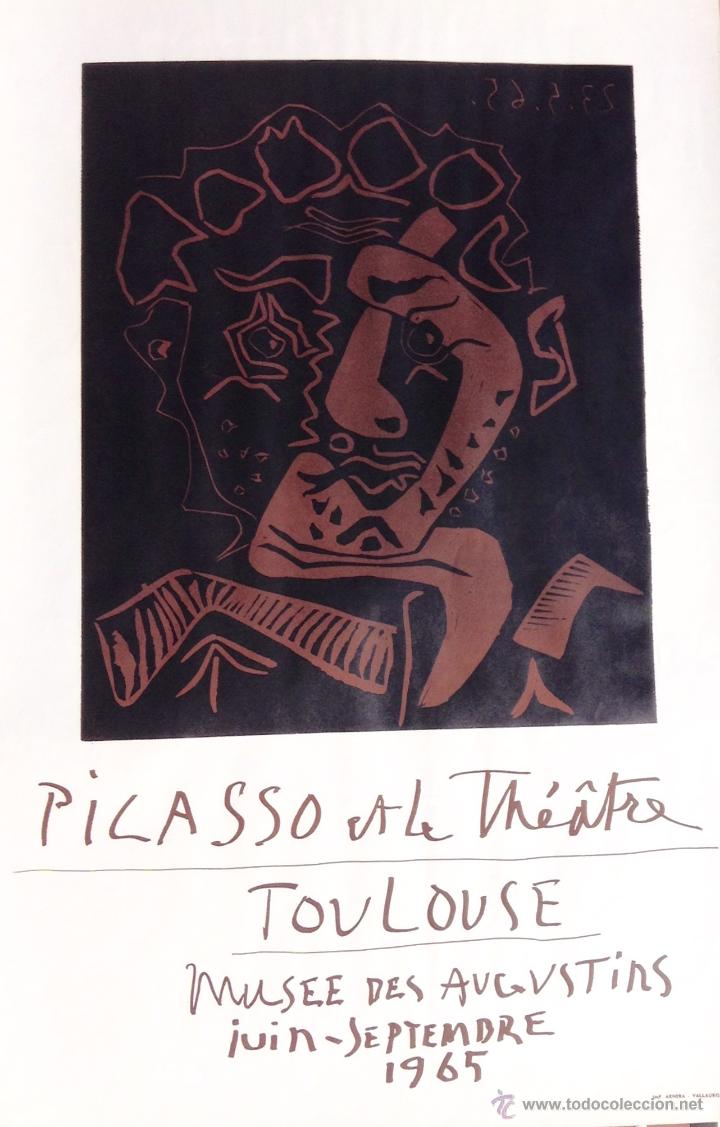 PICASSO LINOLEUM ORIGINAL 1965 (Coleccionismo - Carteles Gran Formato - Carteles Varios)
