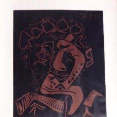 Carteles: PICASSO LINOLEUM ORIGINAL 1965. Lote 45625436