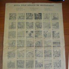 Carteles: AUCA DELS APLECS DE MATAGALLS (MONTSENY). 1962. Lote 45889069