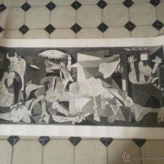 Carteles: CARTEL GUERNICA PABLO PICASSO 1937 TITULO: GUERNICA PABLO PICASSO 1937 PAPEL DURO 137 CENTIMETRO. Lote 46055212