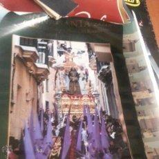 Carteles: GRAN CARTEL SEMANA SANTA CADIZ 2011 DOBLADO . Lote 46057447