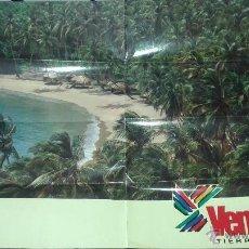 Carteles: CARTEL PABELLON DE VENEZUELA EXPO 92 SEVILLA 1992. Lote 46197776