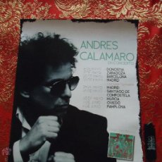 Affiches: CARTEL - ANDRES CALAMARO. Lote 183736731