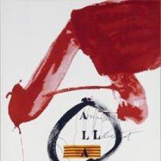Carteles: AMNISTIA, DRETS HUMANS I ART, 1976 - ANTONI TÀPIES. Lote 46293975