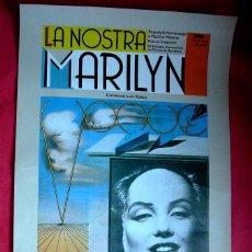 Affissi: DALÍ - MARILYN - LA NOSTRA MARILYN - 1986 . Lote 46639588