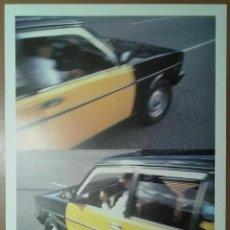Carteles: CARTEL CORPORACIO METROPOLITANA TAXIS AMERCA SANCHEZ BARCELONA 1986. Lote 46642157