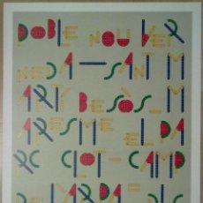 Carteles: CARTEL SANT MARTI (MECANOGRAFIC) JOSEP SOLA BARCELONA. Lote 46659755