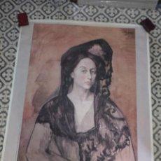 Carteles: GRAN CARTEL FRANCÉS 50 ANS D'ART ESPAGNOL 1880-1936. Lote 46695833