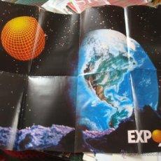 Carteles: CARTEL POSTER ORIGINAL EXPO 92 DE SEVILLA. Lote 47018820
