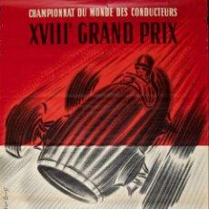 Carteles: XVIIIº GRAND PRIX DE MONACO, 29 DE MAYO, 1960. LÁMINA CARTEL DE 45 X 32 CMS.. Lote 47473828