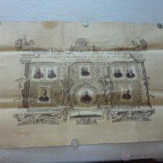 Carteles: LA COOPERATIVA MIROBRIGUENSE A SU JUNTA DE GOBIERNO, 1926. Lote 47484438