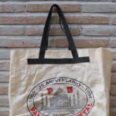 Carteles: BOLSA DE COMPRA : 1969 - 25 ANIVERSARIO - 1994 . PALACIO ORIENTAL - VALENCIA.. Lote 47509022