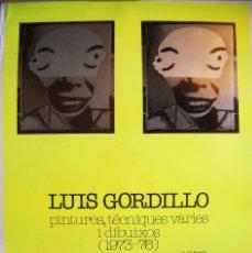 Carteles: LUIS GORDILLO - 1976 - GALERIA MAEGHT. Lote 47744592