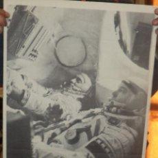 Carteles: CARTEL. PRIMER VUELO ESPACIAL URSS- CUBA. 1981. CALENDARIO DE NOVIEMBRE - DICIEMBRE. 60 X 38CM.. Lote 47951887