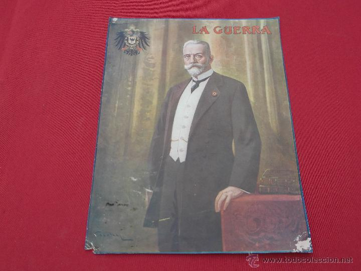 ANTIGUO CARTEL-MINI PÓSTER LA GUERRA (Coleccionismo - Carteles Gran Formato - Carteles Varios)