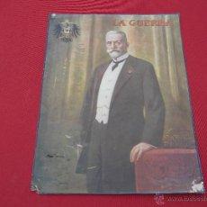 Carteles: ANTIGUO CARTEL-MINI PÓSTER LA GUERRA. Lote 47990967