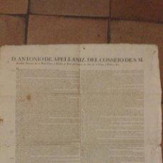 Carteles: CARTEL 1826 NOMATIVA DE CAZA Y PESCA 60 X 48 CM . Lote 48296431