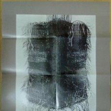 Carteles: CARTEL PROGRAMA GRAU GARRIGA 1970-1977 ARRAS GALLERY NUEVA YORK. TEXTO EN INGLES 60 X 43,5 CM. Lote 48378190
