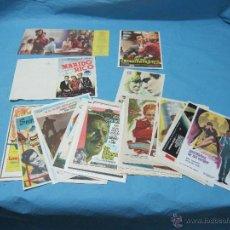 Carteles: CARTELES FOLLETOS PASKINES PROGRAMAS DE CINE REX, TURON Y VICTOR AÑOS 50. Lote 48472342
