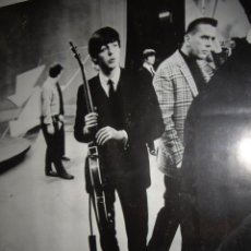Carteles: THE BEATLES, ANTIGUO CARTEL ED SULLIVAN SHOW, NEW YORK 9 FEBRUARY 1964, PAUL MCCARTNEY.. Lote 48546839