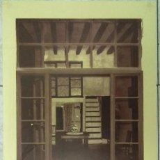 Carteles: EXPOSICION PUIG DE SANT PERE COLEGIO ARQUITECTOS MALLORCA 1975. ARQUITECTURA HISTORIA. Lote 48604113