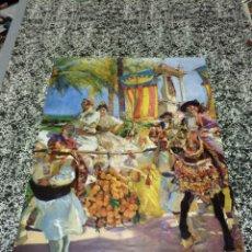 Carteles: SOROLLA - LES GROPES, Nº 13 - VISIÓ D' ESPANYA - COL-LECCIÓ DE LA HISPANIC SOCIETY OF AMERICA - BANC. Lote 48870787