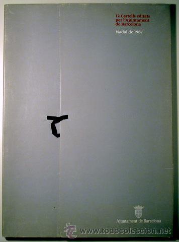Carteles: 12 CARTELLS EDITATS PER L'AJUNTAMENT DE BARCELONA. Nadal de 1987 (11 cartells) - Foto 2 - 38466411