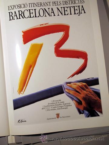Carteles: 12 CARTELLS EDITATS PER L'AJUNTAMENT DE BARCELONA. Nadal de 1987 (11 cartells) - Foto 3 - 38466411