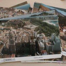 Carteles: COLECCIÓN DE 59 FOTOGRAFIAS A COLOR DE MALAGA GRAN TAMAÑO 31 X 21 CM - FOTO P. PONCE. Lote 50173163