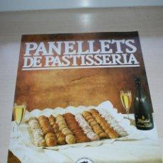 Carteles: CARTEL DE PASTELERIA PENELLETS CORDON NEGRO FREIXENET - GREMI PROVINCIAL PASTISSERIA BARCELONA. Lote 50293617