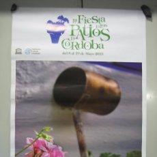 Carteles: CARTEL PATIOS DE CÓRDOBA 2013. MEDIDAS 48X68 CM. Lote 50627164