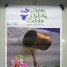 Carteles: CARTEL PATIOS DE CÓRDOBA 2013. MEDIDAS 48X68 CM. Lote 50627166