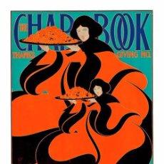 Carteles: THE CHAP BOOK. LÁMINA CARTEL DE 45 X 32 CMS.. Lote 51109801
