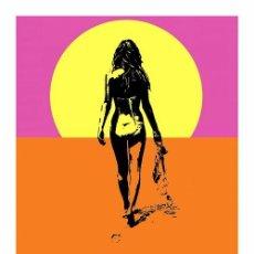 Carteles: VERANO SIN FIN. THE ENDLESS SUMMER. LÁMINA CARTEL DE 45 X 32 CMS.. Lote 51110865