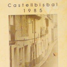 Carteles: CARTEL ARADA. CASTELLBISBAL. 1985. ARADA. CASTELLBISBAL. 42 X 30 CM.. Lote 52019414
