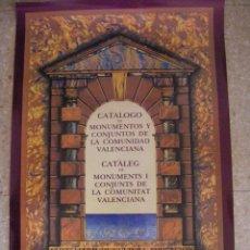 Carteles: CARTEL DEL CATALOGO DE MONUMENTOS DE LA COMUNIDAD VALENCIANA 1983. Lote 52158942