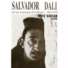 Carteles: CARTEL SALVADOR DALI. FOTOGRAFIE TONY KEELER. 2004. 50 35 CM. CADAQUÈS/VENEZIA. Lote 52597923