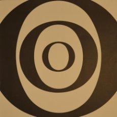 Carteles: CARTEL JOAN BROSSA POESIA VISUAL I POEMES OBJECTE. 1989. 76X56 CM. BARCELONA. Lote 53119531