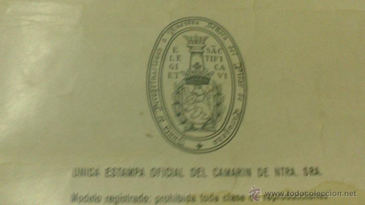 Carteles: CARTEL DE LA VIRGEN DEL PILAR 1940, ZARAGOZA XIX CENTENARIO, FIRMADO POR ARZOBISPO. MEDIDAS. 60 X 40 - Foto 3 - 53339512