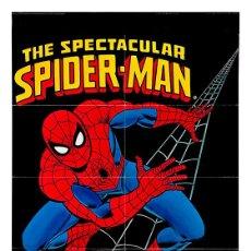 Carteles: LÁMINA CARTEL DE CÓMIC. THE SPECTACULAR SPIDERMAN. HOMBRE ARAÑA. 45 X 32 CMS.. Lote 222608057