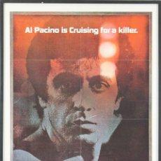Carteles: I3-025. CARTEL ORIGINAL DE LA PELICULA CRUISING. AL PACINO. 1980.. Lote 53085109