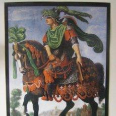 Carteles: CARTEL EXPOSICIÓN ZURBARÁN Y SU OBRADOR VALENCIA 1988. Lote 55044991