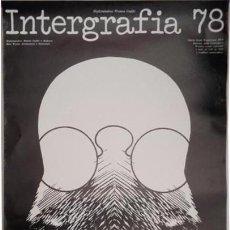 Carteles: CARTEL POLACO. INTERGRAFIA 78 VII BIENAL INTERNACIONAL ARTES GRÁFICAS. Lote 56544838