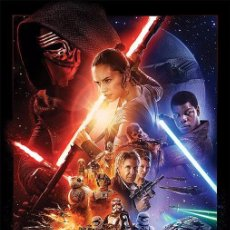 Carteles: POSTER STAR WARS - EP VII ( THE FORCE AWAKENS ) LICENCIA OFICIAL 61 X 91 CM. Lote 56571479