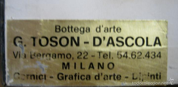 Carteles: XXL 99 cm pareja poster Pop Art Patrignani MILANO 80´s Moda gafas peluqueria maquillaje -enmarcados - Foto 6 - 56689064