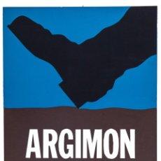 Carteles: ARGIMON. GALERIA SEN 1972. Lote 56739193