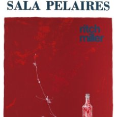 Carteles: RITCH MILLER. SALA PELAIRES. MAYO 1974. Lote 56739930